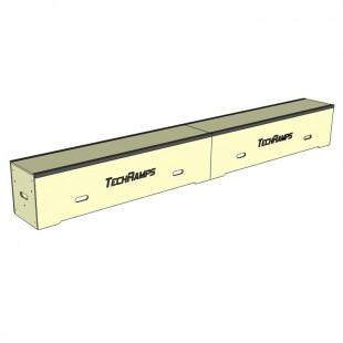 Grindbox prosty z kątownikiem 360cm - 45cm - 40cm GPK360-45-40